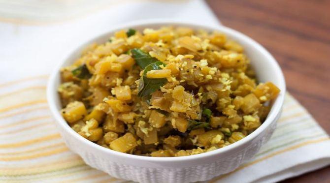 Vazhaithandu Poriyal, Vazhaithandu recipe