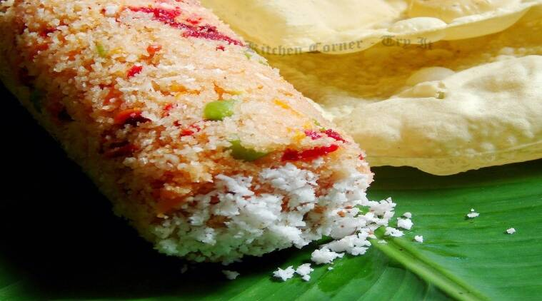 Vegetable Puttu recipe simple breakfast recipes tamil