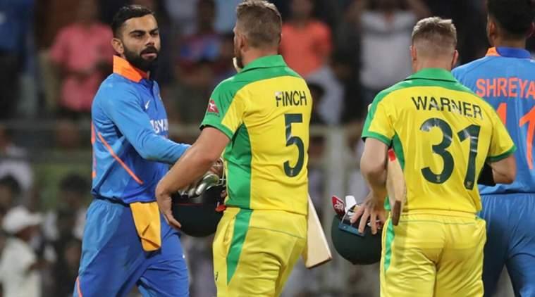 india vs australia, india vs australia 1st odi cricket, ஆஸ்திரேலியா வெற்றி, இந்தியா தோல்வி, கிரிக்கெட், india lose, australia win, australia won by 66 runs