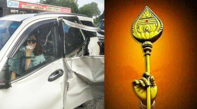 Khushbu car accident Khushbu sundar twitter