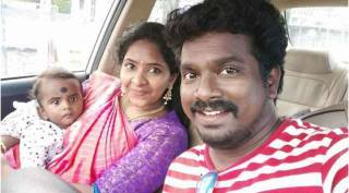 vijay tv thangadurai wife siricha pochi