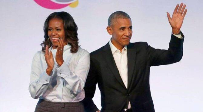 'Answer is no': Michelle Obama didn't want Barack to run for President