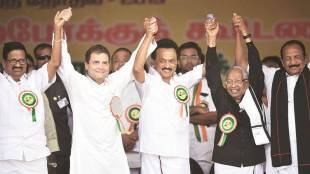 DMK alliance boycotts tv debate with bjp participants