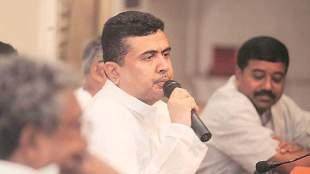 suvendu adhikari, trinamool congress, tmc suvendu adhikari quits office, சுவேந்து அதிகாரி, திரிணாமுல் காங்கிரஸ், திரிணாமுல் காங்கிரஸ் அமைச்சர் சுவேந்து அதிகாரி ராஜினாமா, tmc news, bengal elections 2021, west bengal news, tamil indian express