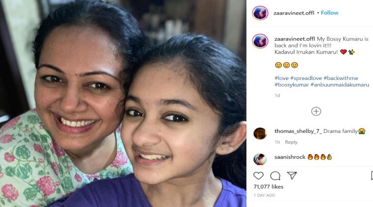 Netizens are after Bigg Boss Archanas Daughter Zara Instagram Tamil News