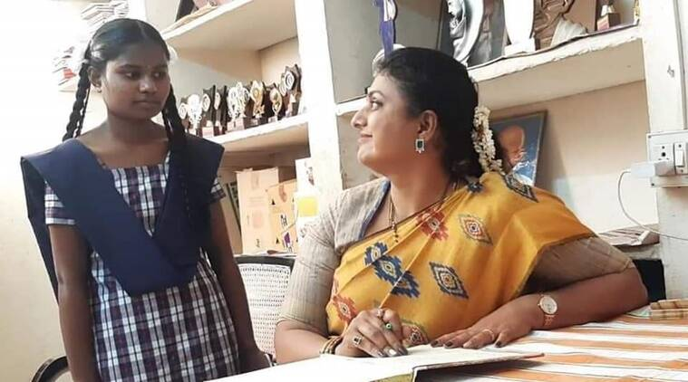 MLA Roja adopts an orphan girl and fulfills her dream to become a doctor