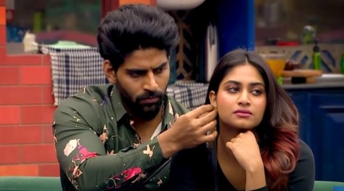 Bigg Boss 4 Tamil Vijay Tv Aari Bala Rio Shivani Aajeeth review Day 57