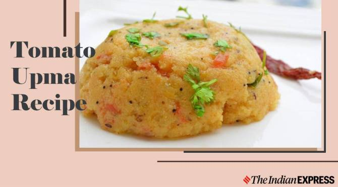 Easy Breakfast Tomato Upma Recipe Healthy breakfast Tamil
