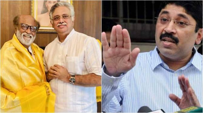 dmk mp dayanidhi maran, dayanidhi maran denies Arjunamurthy is not adviser of murasoli maaran, திமுக எம்பி தயாநிதி மாறன், அர்ஜுனமூர்த்தி, முரசொலி மாறன், ரஜினிகாந்த் கட்சி தலைமை ஒருங்கிணைப்பாளர் அர்ஜுனமூர்த்தி, arjunamurthy, rajinikanth party chief coordinator arjunamurthy, rajinikanth political party