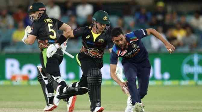 India vs Australia, India vs Australia 2nd T20, இந்தியா vs ஆஸ்திரேலியா, இந்தியா வெற்றி, இந்தியா vs ஆஸ்திரேலியா டி20 போட்டி, IND vs AUS 2nd T20, Ben McDermott, Aaron Finch, cricket news, sports news, இந்திய அணி வெற்றி, india vs australia, india vs australia 2nd t20 match, india won by 6 wickets