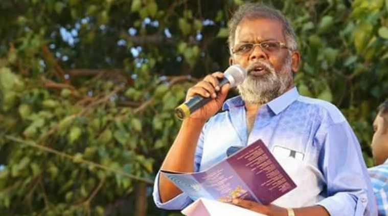 karuppu karuna passes away, tamil nadu progressive writers artist association, தமுஎகச, கருப்பு கருணா மரணம், திருவண்ணாமலை, karuppu karunaa, thiruvannamalai