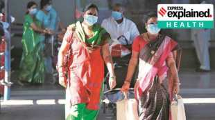 why old mask is worse than no mask, how masks protect us, why should I wear a mask, முகக்கவசம், பழைய முகக்கவசம், பழைய முகக்கவசத்தால் ஆபத்து, mask benefits, are masks necessary, Physics of Fluids, American Institute of Physics, Tamil indian express, express explained