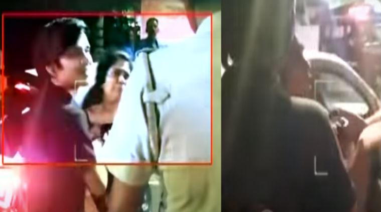 tamil news chennai girl vulgar speech to chennai traffic police