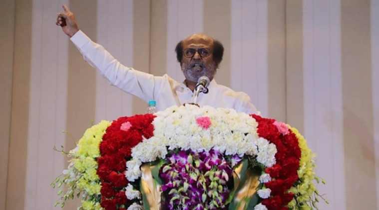 rajinikanth party super star rajinikanth political party