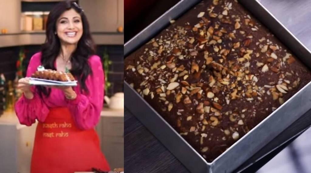 Shilpa Shetty New Year Fruit Cake recipe Healthy cake Tamil news