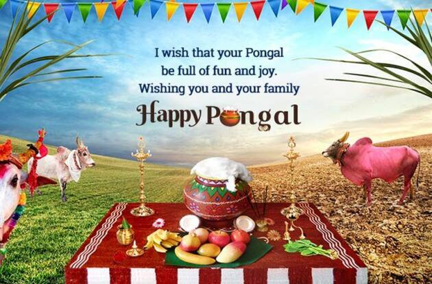 Pongal Wishes to Family