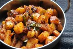 potato fry recipe potato fry recipe in tamil