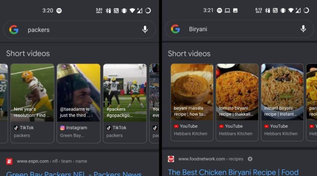 Google search soon to show up Instagram Tiktok Youtube Short Videos Tamil News