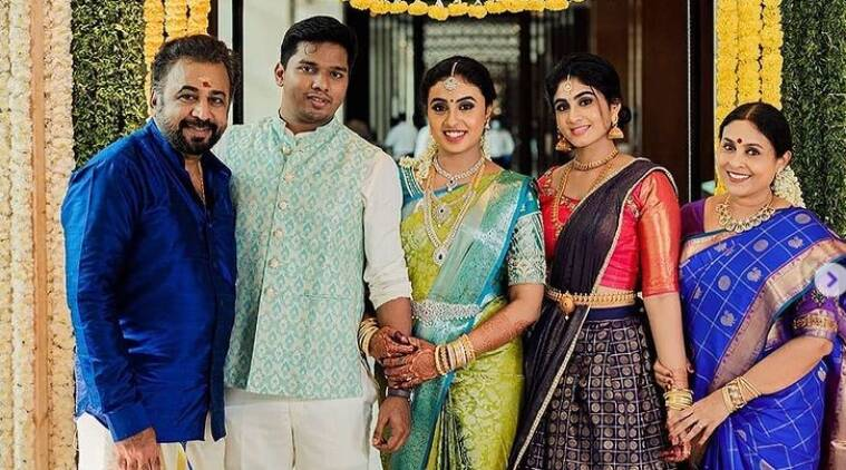 Saranya Ponvannan Daughter Engagement Photos gone Viral Tamil News