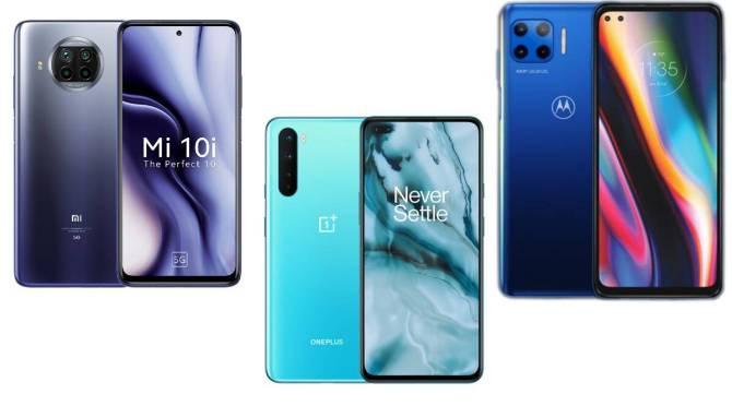 Xiaomi Mi 10i oneplus nord moto g price 5g phones under rs 25000 tamil news