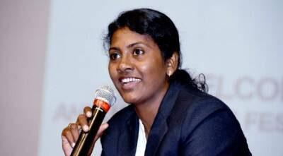 Padmasri award to former Indian basketball team captain Anitha pauldurai -இலக்கு அர்ஜூனா... கிடைத்தது பத்மஸ்ரீ! சாதித்த அனிதா பால்துரை