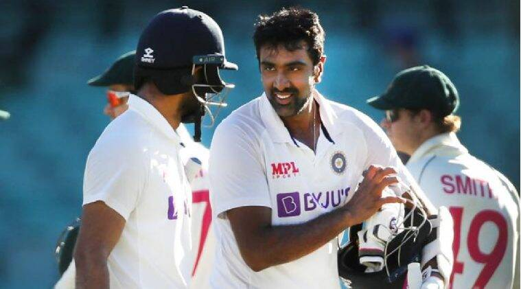 fighting for team india Hanuma Vihari and Ravichandran Ashwin - வலியுடன் போராடிய விஹாரி... ஊக்கப்படுத்திய அஸ்வின்