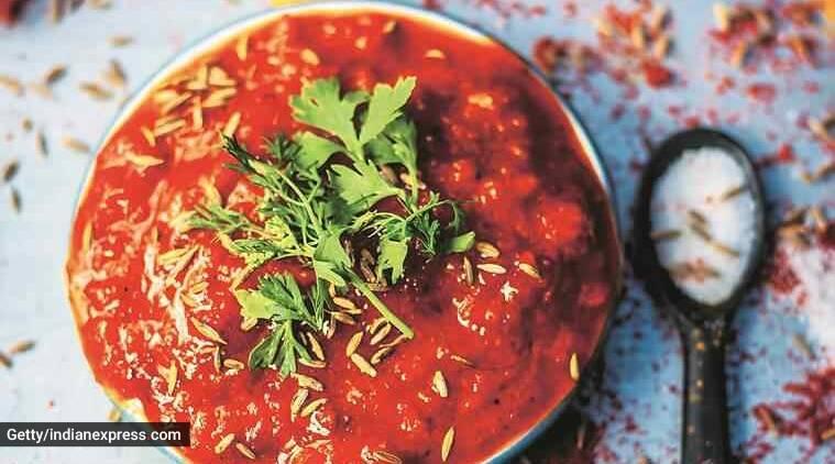 Simple Tomato Chutney Thakkali Chutney recipes Tamil