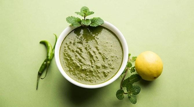 Pudhina Thakkali Chutney Tomato Mint Chutney Recipe Tamil