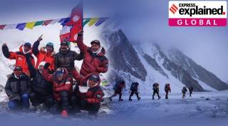 Challenge of mountaineering nepali team to climb k2 in winter Tamil News