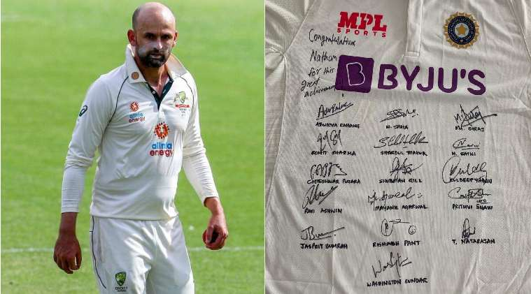 Nathan Lyon thanks Indian cricket team's sportsmanship, shares players' signed jersey - வெற்றியை விட இந்த பாராட்டுக்கு மரியாதை அதிகம்: சபாஷ் டீம் இந்தியா