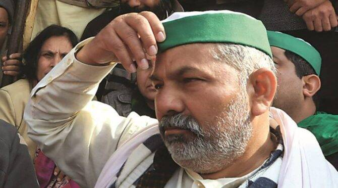 A breakdown, and the rise of farmer leader Rakesh Tikait