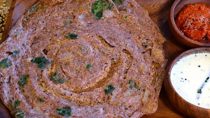 ragi dhosa recipes ragi dhosa tamil recipe