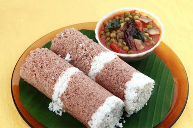 puttu recipe in tamil arisi mavu puttu recipe