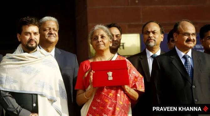 Budget 2021 Nirmala Sitharaman announces 35000 covid vaccine Tamil News