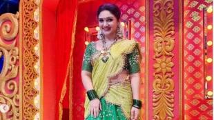Sridevi Vijayakumar Viral Latest Photoshoot Lehenga Choli Fashion Tamil News