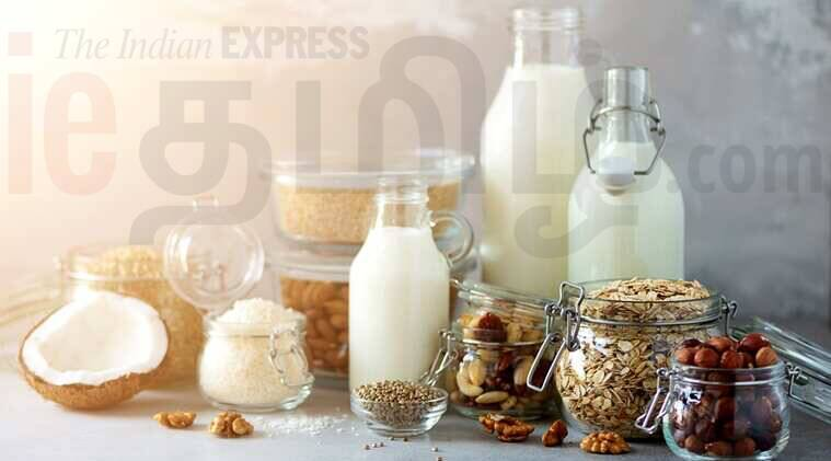 almond milk recipe news tamil news how to make almond milk at home