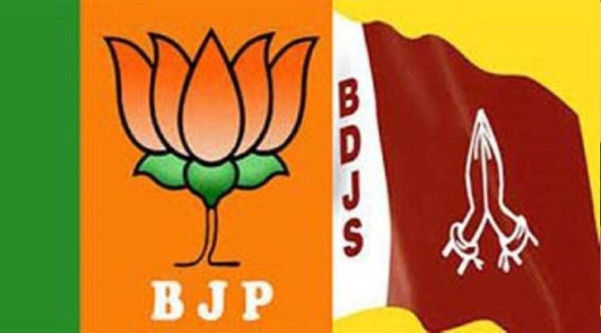 India news in Tamil NDA ally in Kerala splits, BDJS leaders claim BJP secret pact with LDF for polls