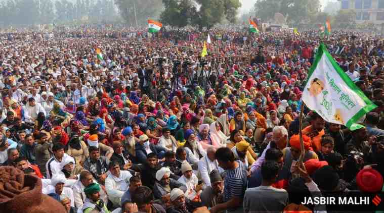 Farmers protest, Farm protest BJP Punjab, Punjab polls, punjab civic polls, பஞ்சாப் உள்ளாட்சி தேர்தல், ஹரியானா, விவசாயிகள் போராட்டம், பாஜக, பாஜக தலைவர்கள், Punjab BJP, Punjab political parties, BJP Punjab farmers protest, bjp leaders face farmers anger, farm protest news, tamil indian express