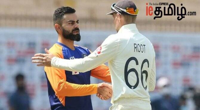 Cricket news in tamil Chennai test india vs England 2 nd test players list