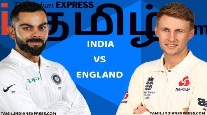 Cricket news in Tamil India vs England statics for bowling at Chennai test