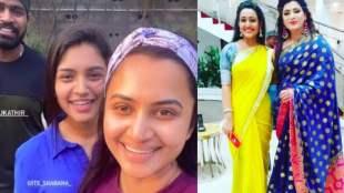 Tamil Serial news in tamil zee tamil sembaruthi serial actress durga meeting with sembaruthi serial stars