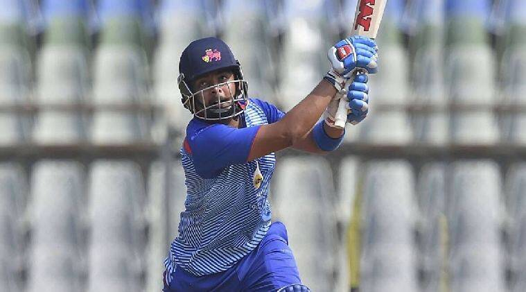 Cricket news in tamil Prithvi Shaw slams highest individual score in Vijay Hazare Trophy