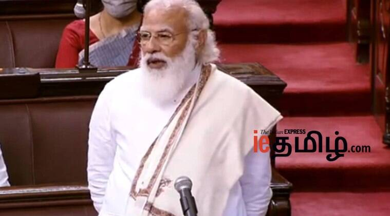 India news in Tamil we are implementing Manmohan's dream PM modi in Rajya Sabha