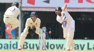 Cricket news in tamil Chennai test Ind vs eng Rohit Sharma hits century and rahane hits fifty