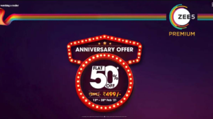 Zee5 premium annual subscription 50 price cut netflix disney hotstar amazon prime Tamil News