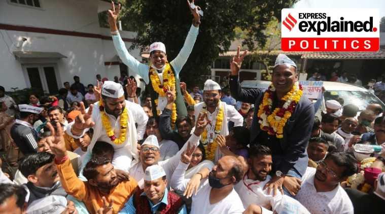 delhi mcd election result, AAP vicctory in Delhi election