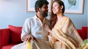 Nayanthara Vignesh Shivan got engaged Viral Photos in Social Media Tamil News