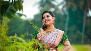 Pandian Stores Chithi 2 fame Nehah Menon Mother gives birth to a baby girl Tamil News