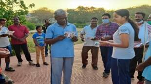 Makkal Needhi Maiam Padma Priya gathers supporters in a different way Tamil News