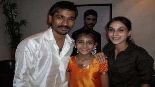 Tamil viral news in tamil Bigboss gabriella charlton childhood photo with dhanush goes viral